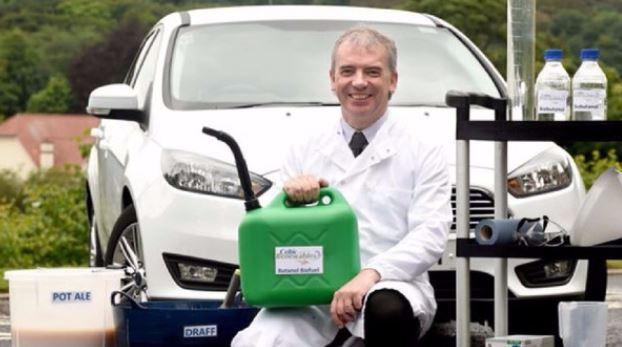 Según el científico, el combustible es apto hasta para turbinas de avión. (Foto. irishexaminer.com)