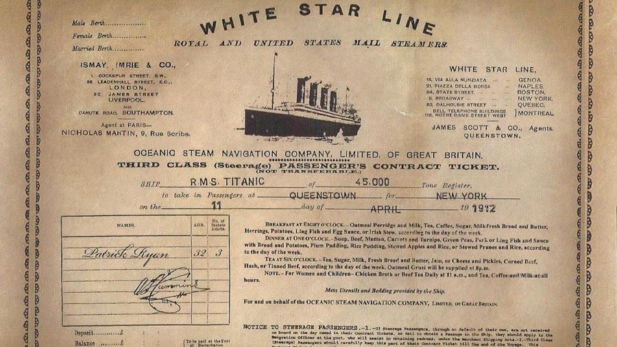 Este sería uno de los contratos de boletos para tercera clase. (Foto. elsalvador.com)