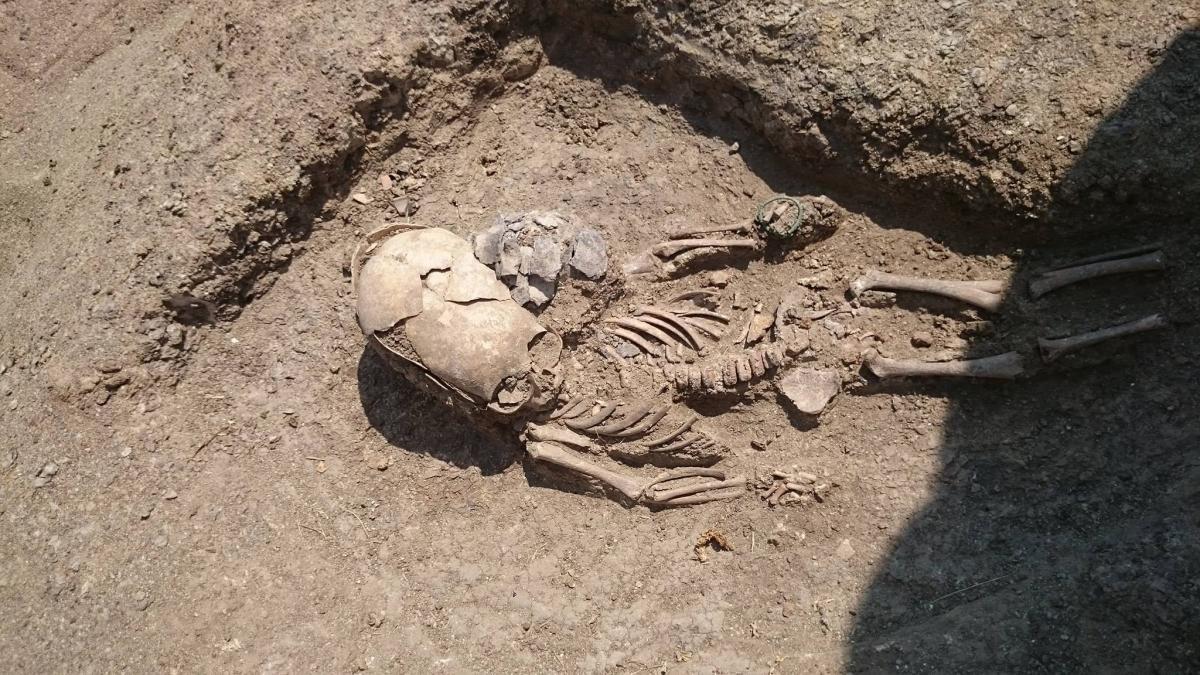 Según algunos, el esqueleto es una prueba de visitas alienígenas en el pasado. (Foto. archae.ru)