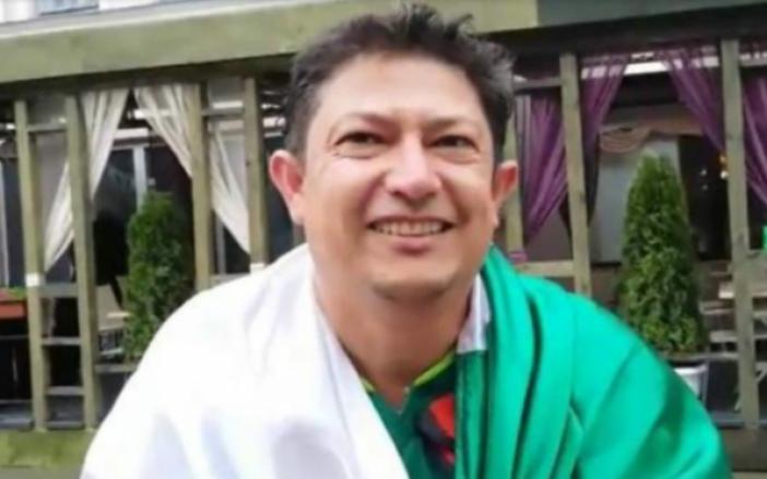 Arturo García disfrutó cada uno de los partidos de la selección mexicana. (Foto. tabascohoy.com)