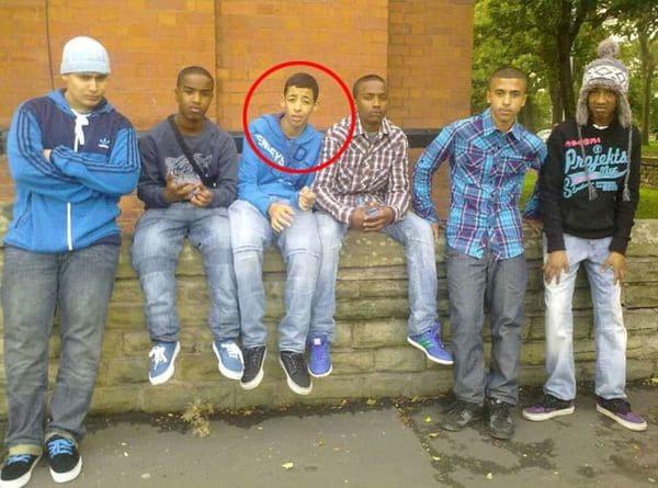 Imagen de terrorista islámico siete años atrás. (Foto. Daily Mail)