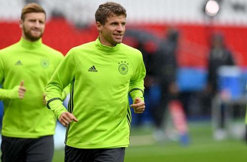 Thomas Müller es la pieza clave en la ofensiva alemana. (Foto: AFP)
