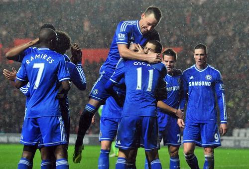 El Chelsea consiguió una victoria por 3-0 de visita ante el Southampton
