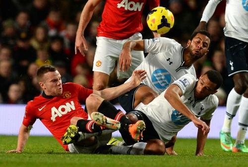 El Manchester United cayó 2-1 de visita ante el Tottenham en su último juego por la Premier League