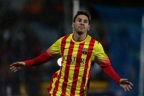 Lionel Messi suma dos dobletes en dos juegos tras su recuperación; ambos en Copa del Rey
