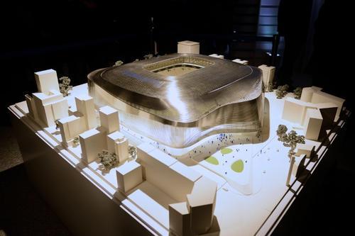 Así se verá el Santiago Bernabéu tras su remodelación.