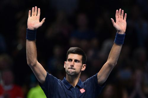 Novak Djokovic venció a su rival, Dominic Thiem. (Foto: AFP)