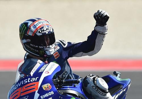 Jorge Lorenzo restó mérito a la falta de Rossi, su compañero de equipo