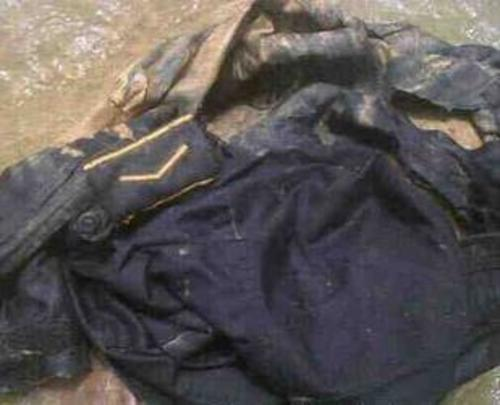 La camisa del subinspector fue encontrada en el río Valparaíso,  aldea Camojá, La Democracia, Huehuetenango.