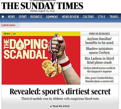 The Sunday Times escándalo foto
