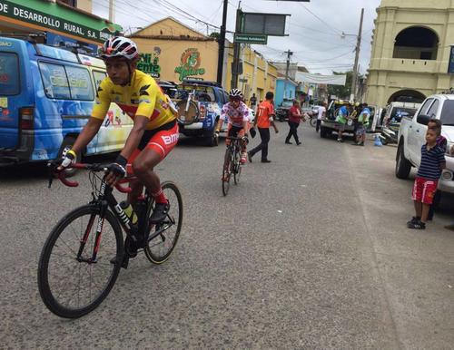Alder Torres, líder general de la Vuelta. (Foto: Nuestro Diario)