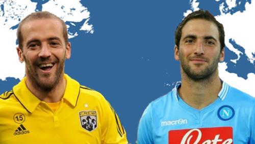 Federico y Fernando Higuaín se formaron en el mismo club, pero solo uno triunfó en Europa. (Foto: Twitter)