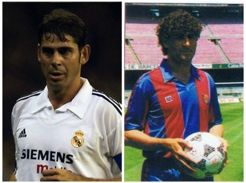 Fernando y Manolo Hierro vivieron dos realidades en el fútbol. (Foto: Twitter)