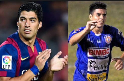 Luis Suárez juega para el FC Barcelona y Paolo, hermano del uruguayo, hizo parte de su carrera en El Salvador. (Foto: Twitter)