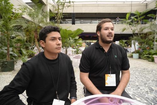 Jorge y Julián también son emprendedores y quieren apoyar a otros guatemaltecos en este camino. (Foto: Wilder López/Soy502)
