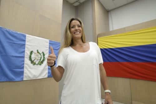 Deisy Arvelo es reconocida por su carrera como modelo. (Foto: WIlder López/Soy502)