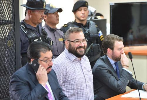 Así luce Javier Duarte, que aceptó la extradición a su país. (Foto: Jesús Alfonso/Soy502)