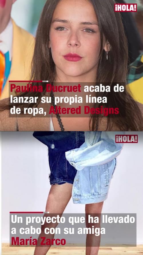 Paulina y María llevaron su amistad a otro nivel y abrieron una línea de ropa. (Foto: captura de pantalla)