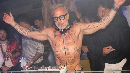 Giaunluca es DJ. (Foto: Zona Cero)