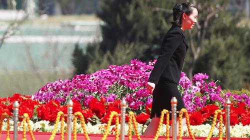 Según diversos medios de comunicación, Kim Yo-jong tiene entre 28 y 30 años. (Foto: Reuters)