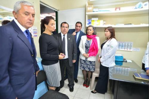 La clínica solo funcionó durante 14 días y se invirtió más de 1 millón de quetzales. (Foto: archivo/Soy502)