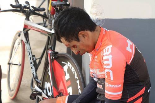 Ciclistas atropellados en ruta Interamericana se recuperan de sus heridas. (Foto: Ciclismo Chapín)
