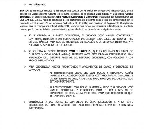 Órgano Disciplinario abre a priueba denuncia contra José contreras foto soy502