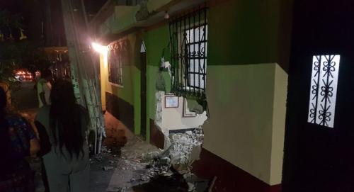 Una persona que se encontraba en la vivienda resultó herida. (Foto: Dalia Santos)