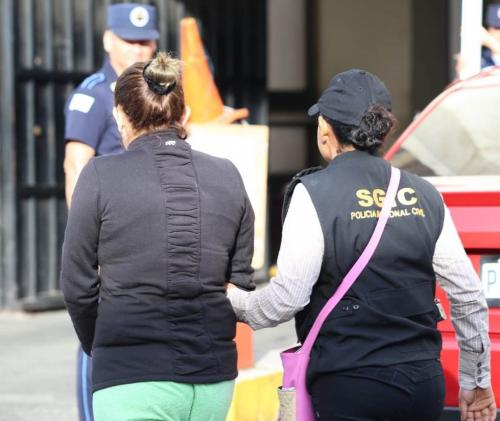 Varias mujeres integraban la red criminal. (Foto: PNC)