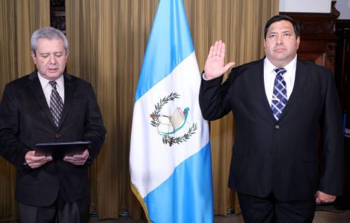 Imagen de la juramentación del funcionario. (Foto: Gobierno)