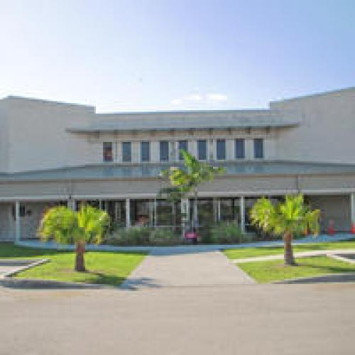 Vista del frente del Centro de Detención Krome. (Foto: www.ice.gov)