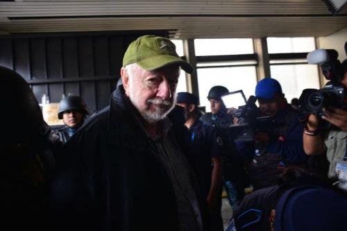 El ex ministro del medio ambiente, Luis Ferraté, también fue detenido por el caso Transurbano. (Foto: Jesús Alfonso/Soy502)