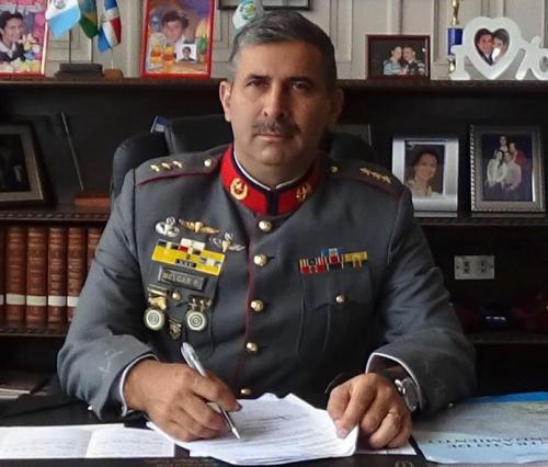 Erick Melgar Padilla es militar de alta, hermano del diputado de FCN Herbert Armando Melgar Padilla, uno de los personajes más allegados al presidente Jimmy Morales. (Foto: archivo)