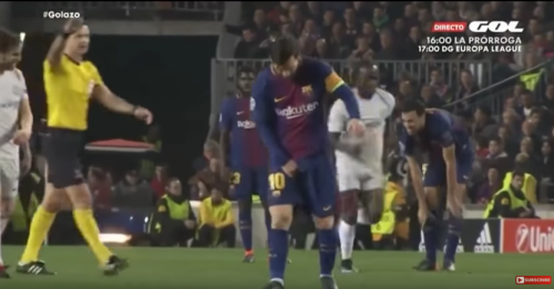 No es la primera vez que Messi preocupa a los argentinos. (Foto: captura de video)
