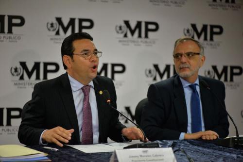 En agosto 2017 el presidente Morales declaró non grato a Velásquez, negándole un año después la entrada al país. Foto: Archivo Soy502