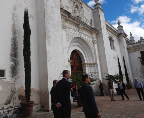 La presencia de Don Felipe en Iberoamérica es continua desde 1996, cuando se decidió que representara a España en las tomas de posesión de los presidentes Iberoamericanos. (Foto:Twitter @Casareal)