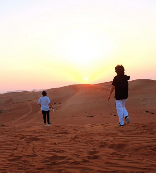 Loas hijos de Ricardo Arjona en Dubai. (Foto: Instagram)