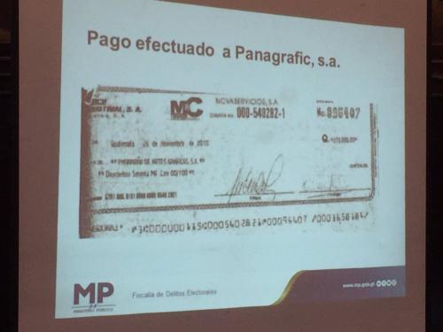 Según el MP, Othmar Sánchez cotizó más de 500 mil quetzales para anuncios, pero solo pagó 270 mil quetzales. (Foto: José Miguel Castañeda/Soy502)