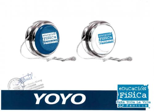 Imagen de los yoyos que cotizó el Mineduc. (Foto: captura de pantalla)