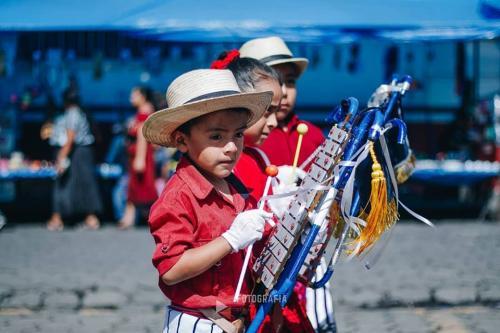 Esta banda dio honores a Guatemala. (Foto: Juanito Damian)