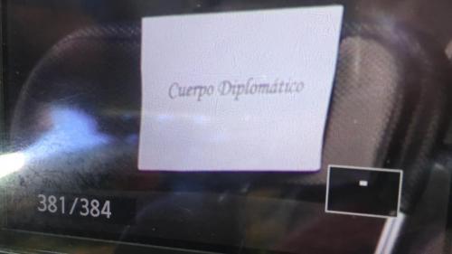 Aunque se desconoce a ciencia cierta quiénes faltaron, hay una silla reservada para el Cuerpo Diplomático. (Foto: Fredy Hernández/Soy502)