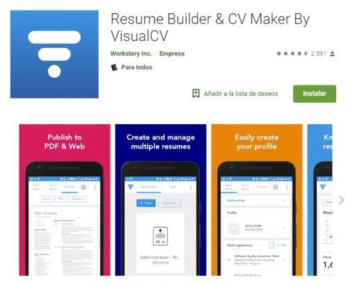 Esta app te da la oportunidad de crear unaHoja de Vidadigital. (Foto Google Play)