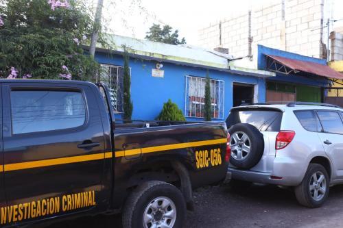 Esta es la vivienda del violador en serie. (Foto: PNC)