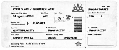 La imagen circula en redes sociales pero es falso. La aerolínea no tiene vuelos para Panamá.