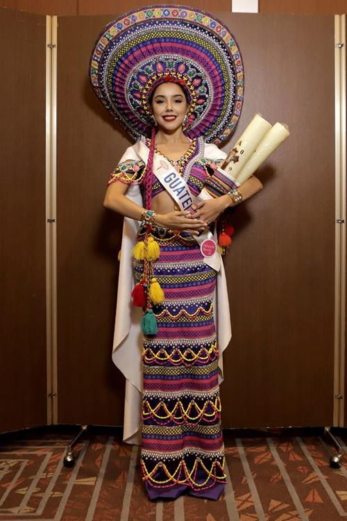 Así lució Guatemala. (Foto: Miss International Beauty Pageant)