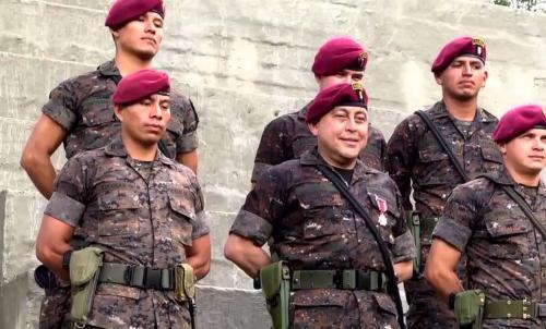 Los kaibiles también son asignados para formar parte de la Guardia Presidencial (Foto ilustrativa: queretaro.quadratin)