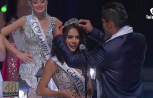 Guatemala ganó el título de Cuarta Princesa Internacional del Café. (Foto: captura de pantalla)