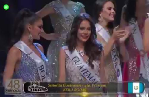 Así fue la coronación de Guatemala. (Foto: captura de pantalla)