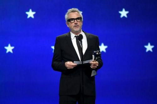 Alfonso Cuarón brilló en los Critics CHoice awards. (Foto: AFP)