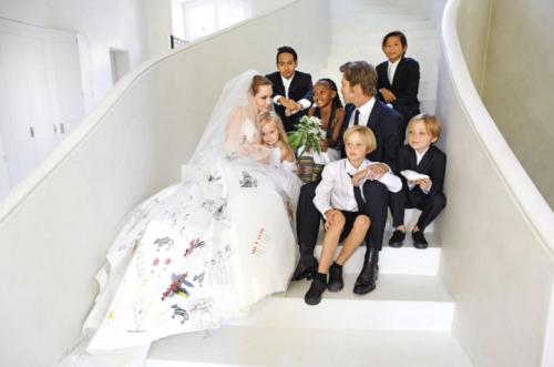 Así era la familia Pitt Jolie. (Foto: oficial)